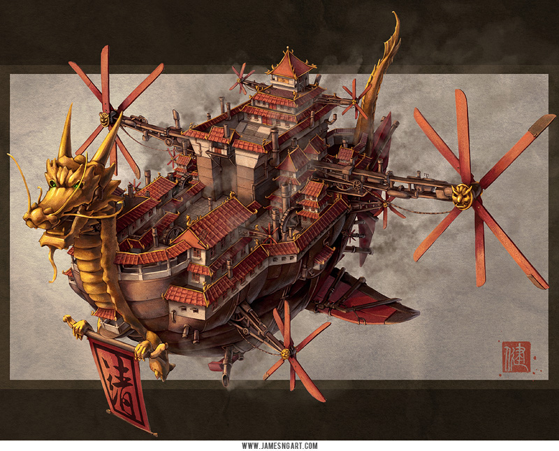 James Ng- Imperial Steamworks (August 22 2012 Updated)